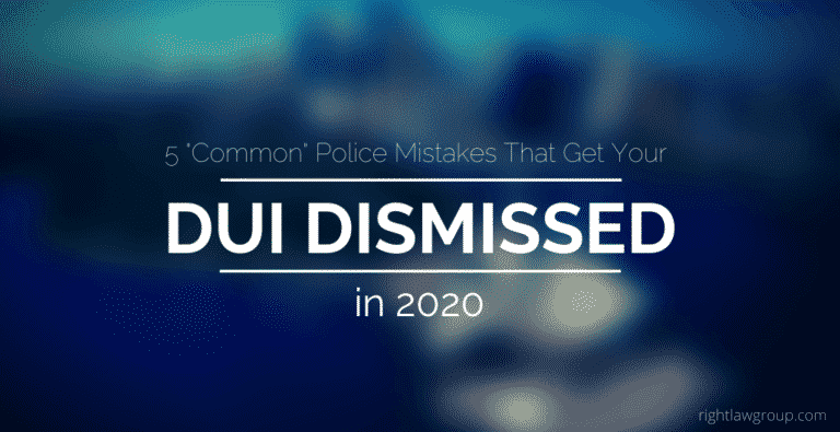 "5 ""Common"" Police Mistakes That Get Your DUI Dismissed"